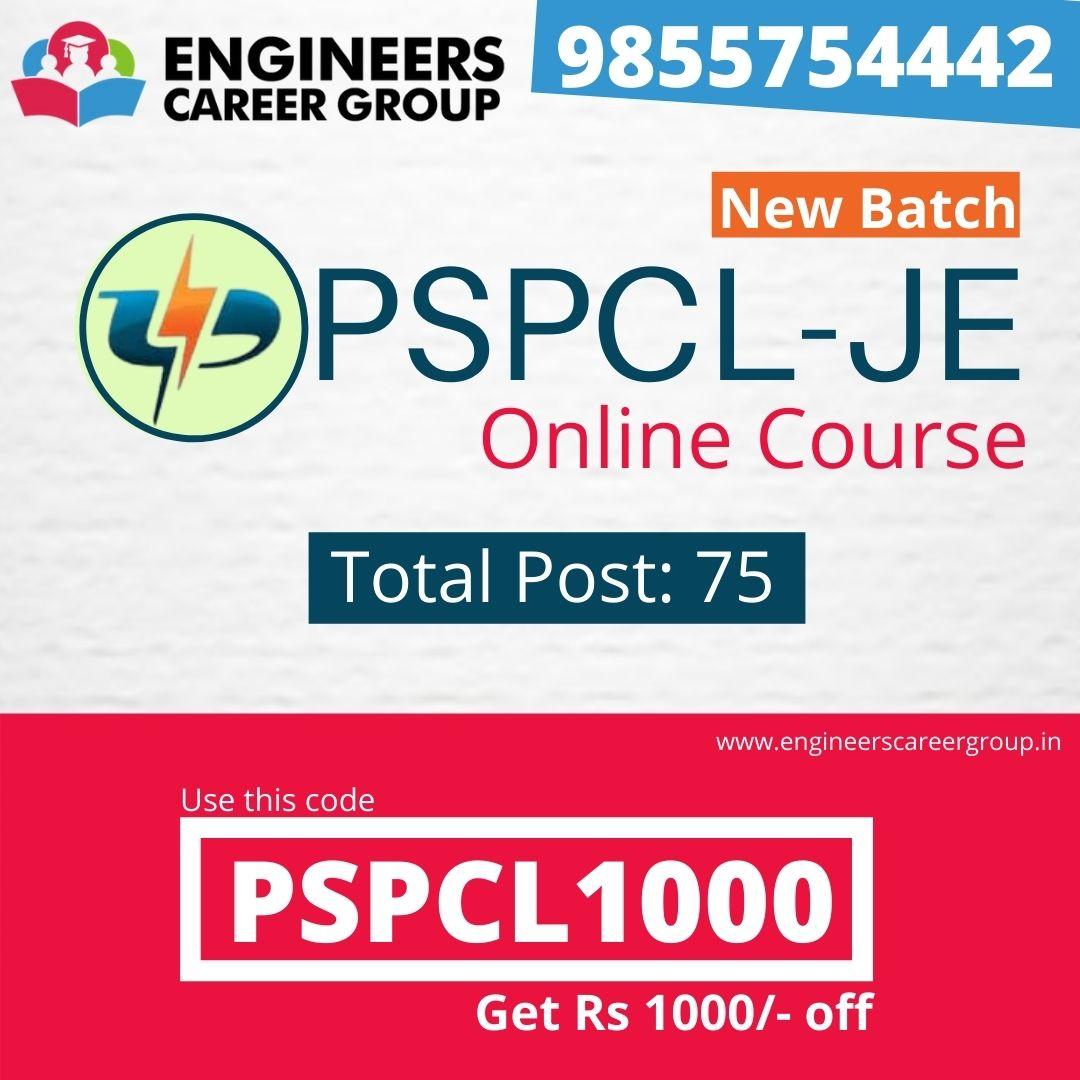 PSPCL-JE Course