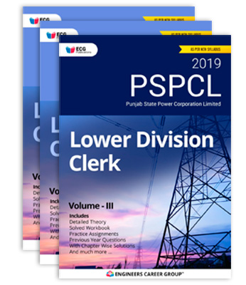 PSPCL LDC Books Package