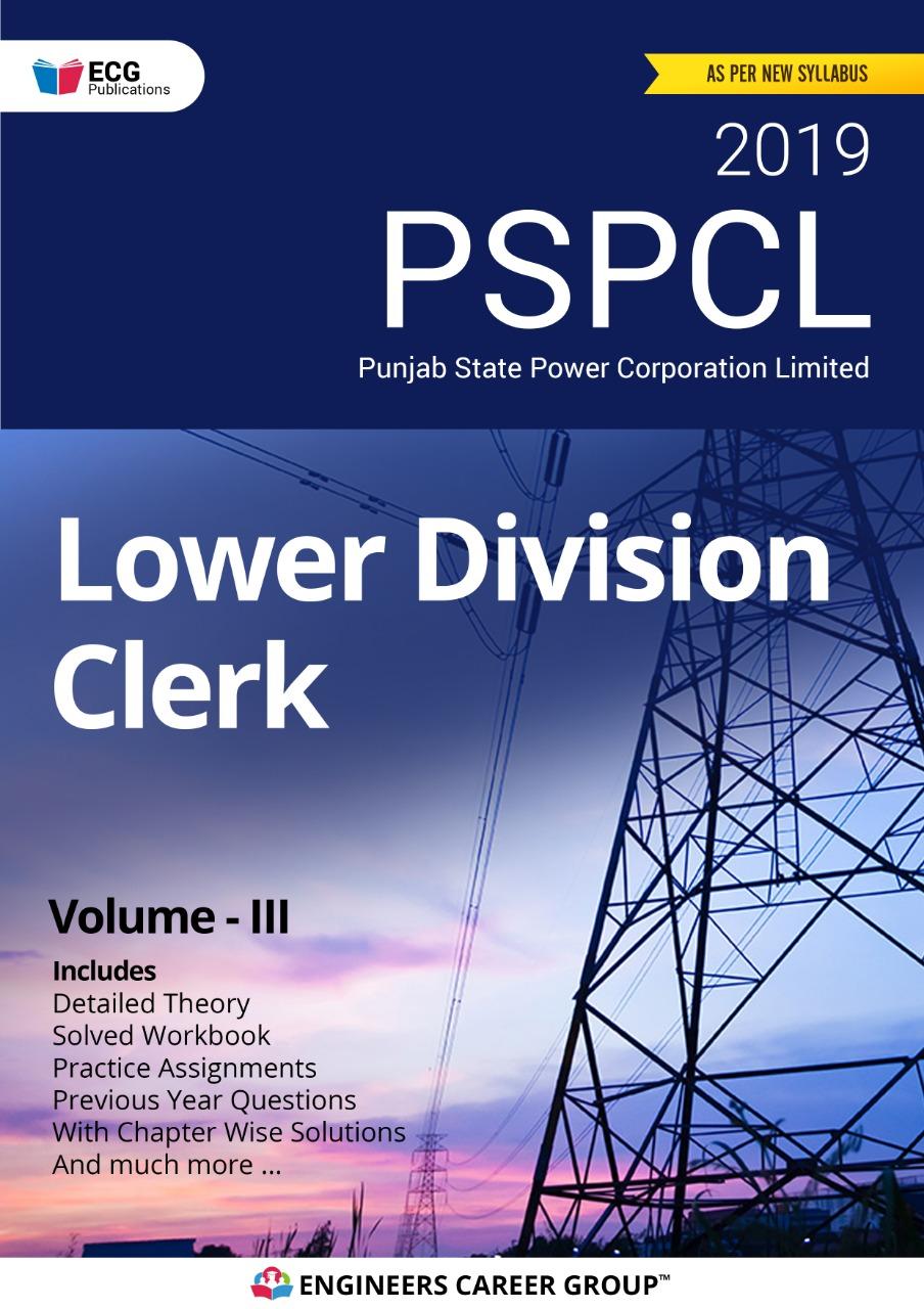 PSPCL LDC Volume III