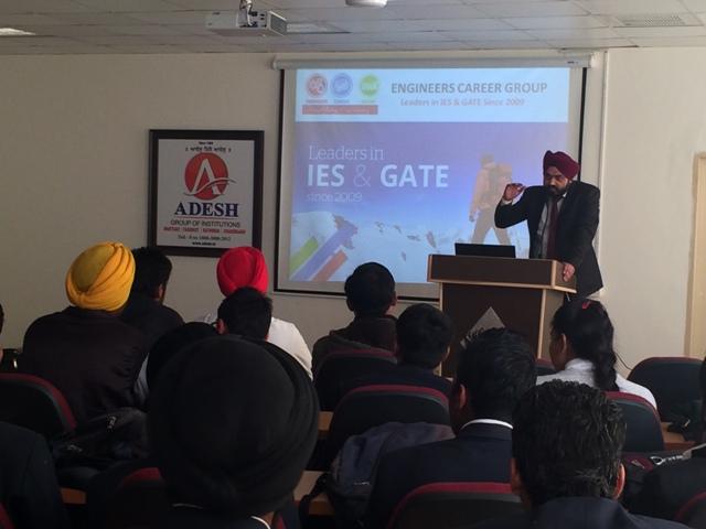 Career Guidance Program at Adesh Institute