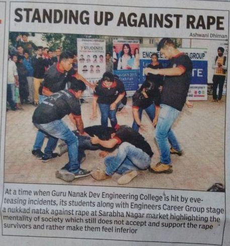 Nukkad Natak Against Rape