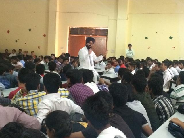 Career Guidance Program at Swami Devi Dyal College