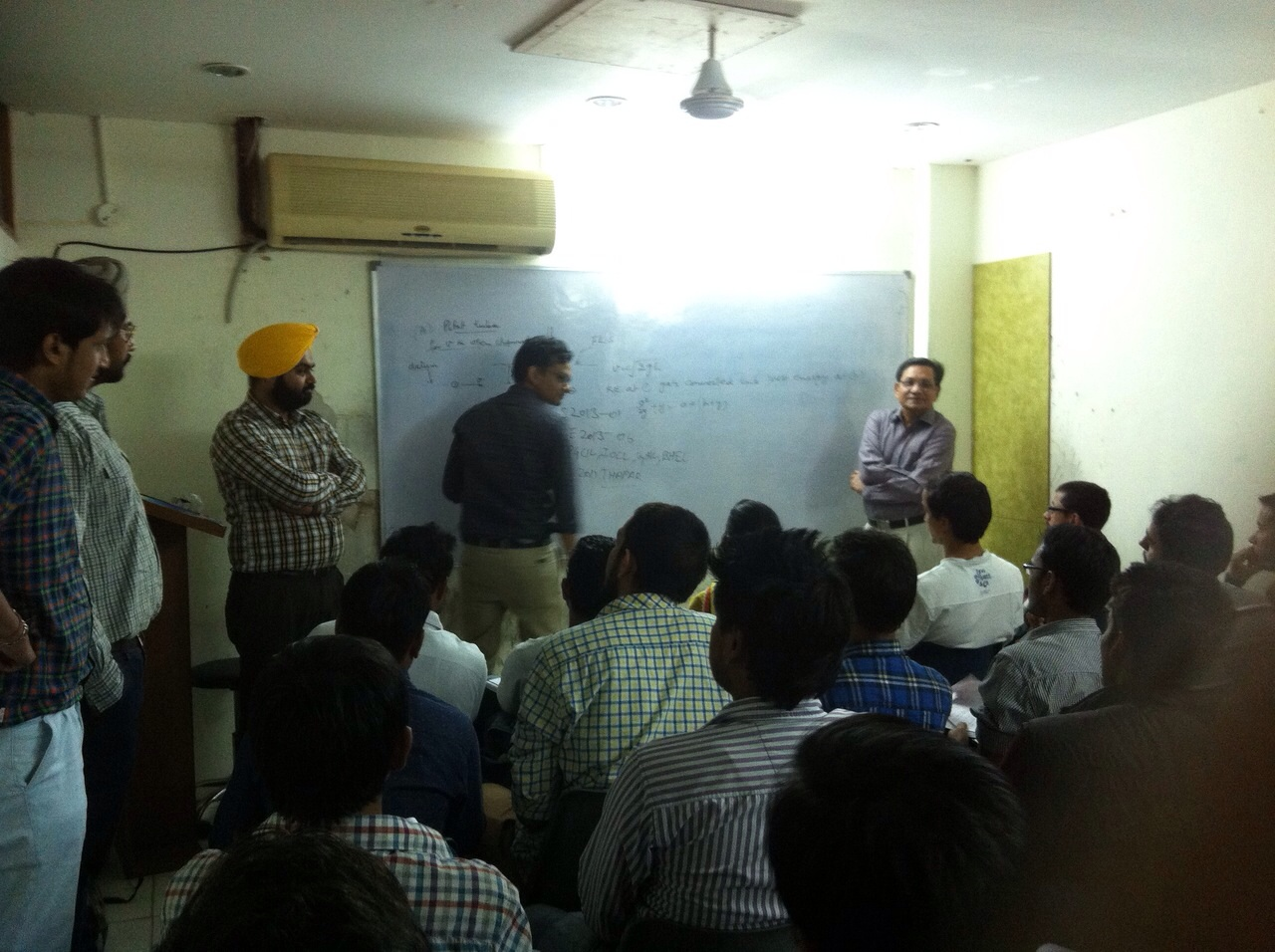 Interactions by Sachin Goyal AIR-1 with ECG Students