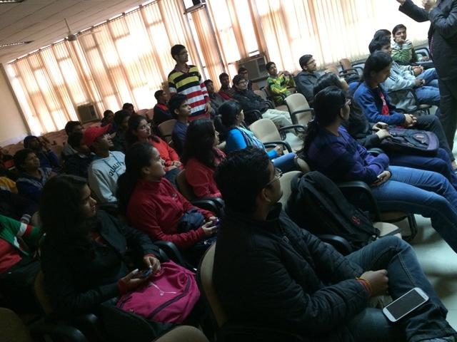 Career Guidance Program at NIT Kurukshetra