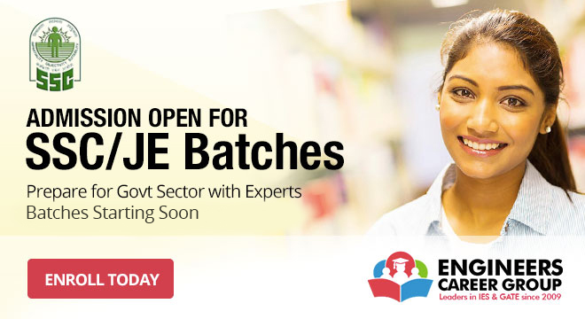 SSC JE Batches Admission Open - Engineers Career Group